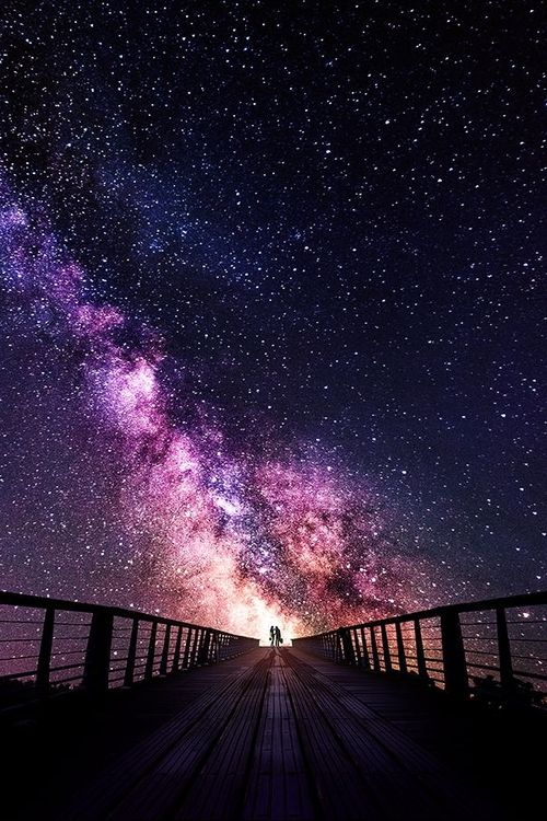 We And The Universe The Most Beautiful Place Night Skies Beautiful Sky Galaxy Wallpaper