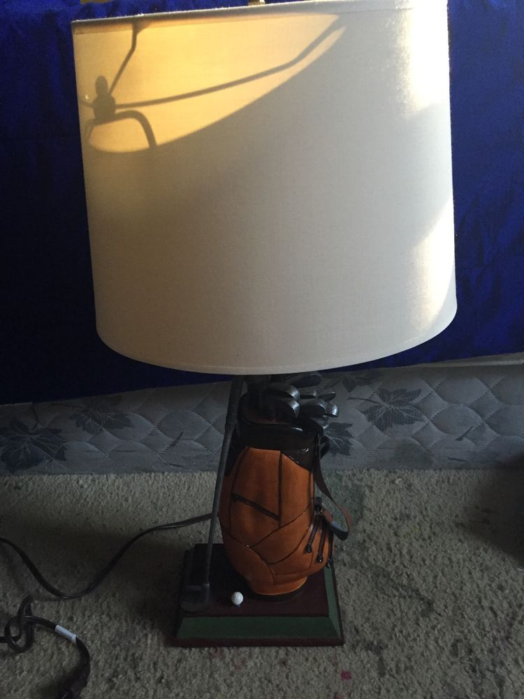 Figi par excellence golf table lamp ebaying pinterest golf figi par excellence golf table lamp aloadofball Gallery