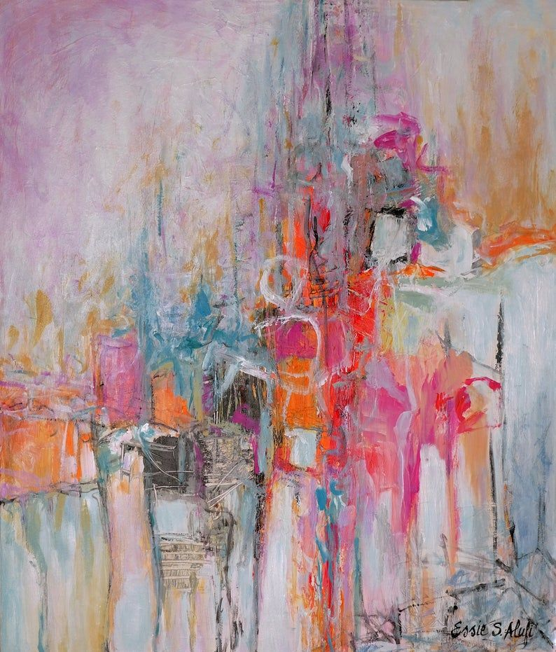 Abstract painting original acrylic painting on canvas