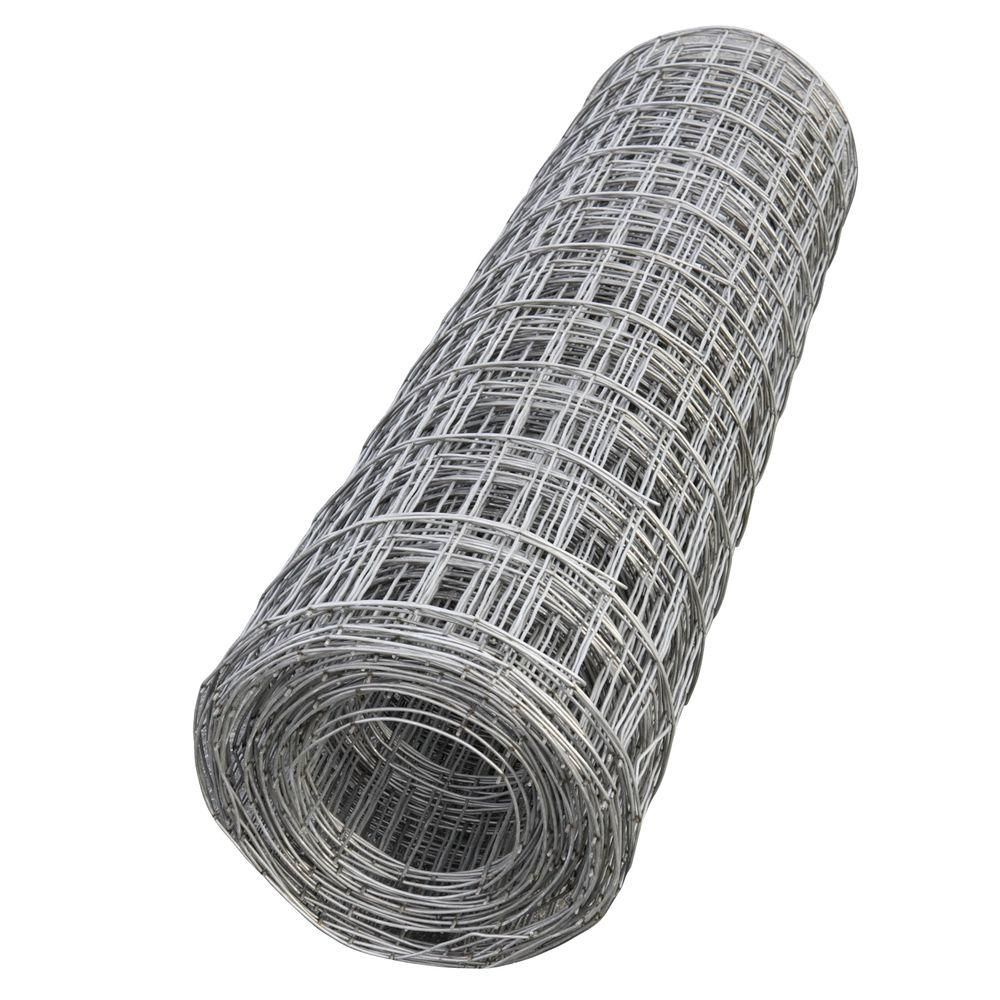 60 in. x 150 ft. Steel Mesh Roll-5901001 - The Home Depot | GARDEN ...