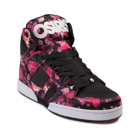 45f2022e8c2 Shop for Womens Osiris NYC 83 Slim Skate Shoe in Black Floral at Journeys  Shoes. The classic NYC 83 Slim from Osiris gets a trendy dose of floral in  this ...