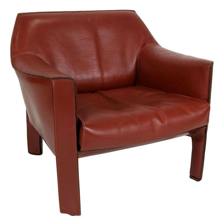 Model 415 Cab Lounge Chair By Mario Bellini Bellini