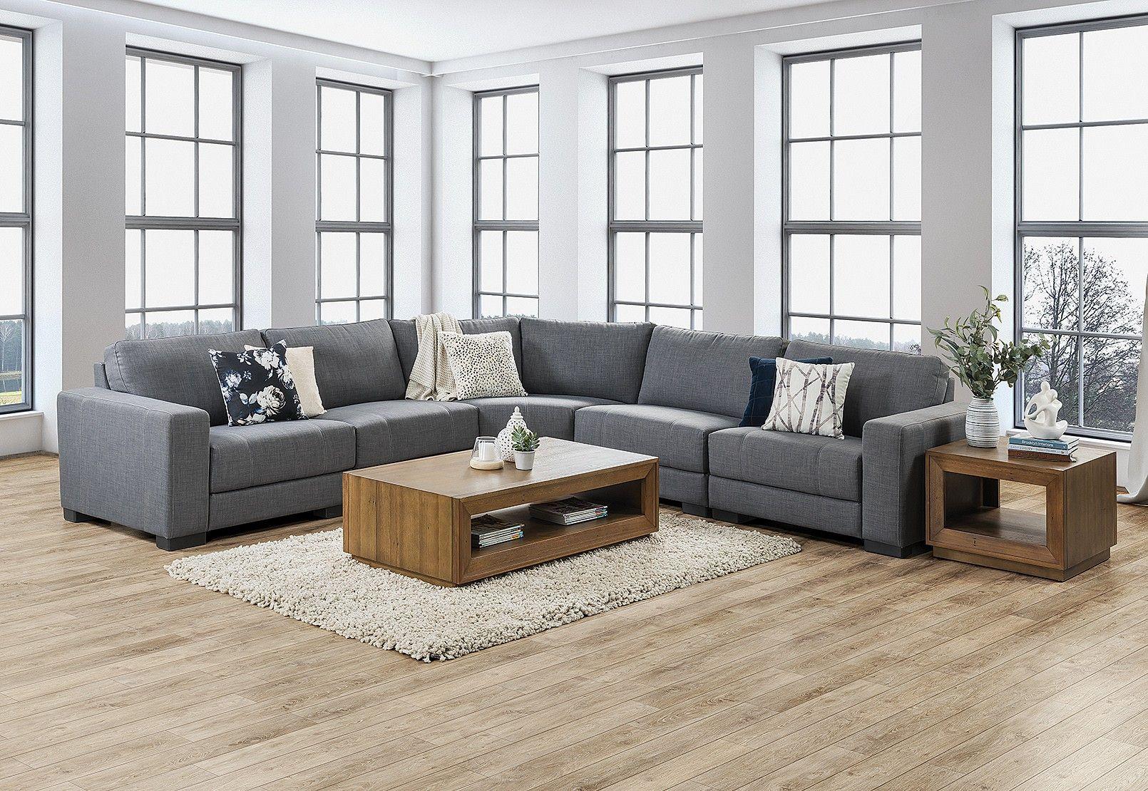 Omaha Fabric Corner Lounge Amart Furniture Furniture Lounge Seating
