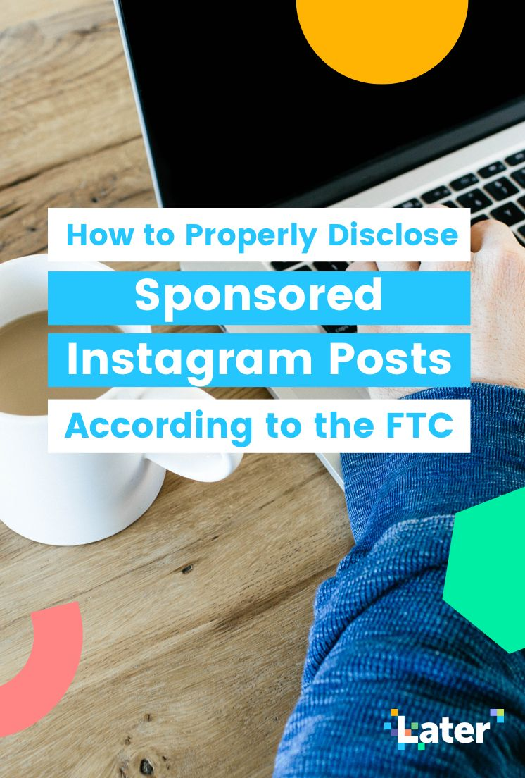 How to Properly Disclose Sponsored Instagram Posts