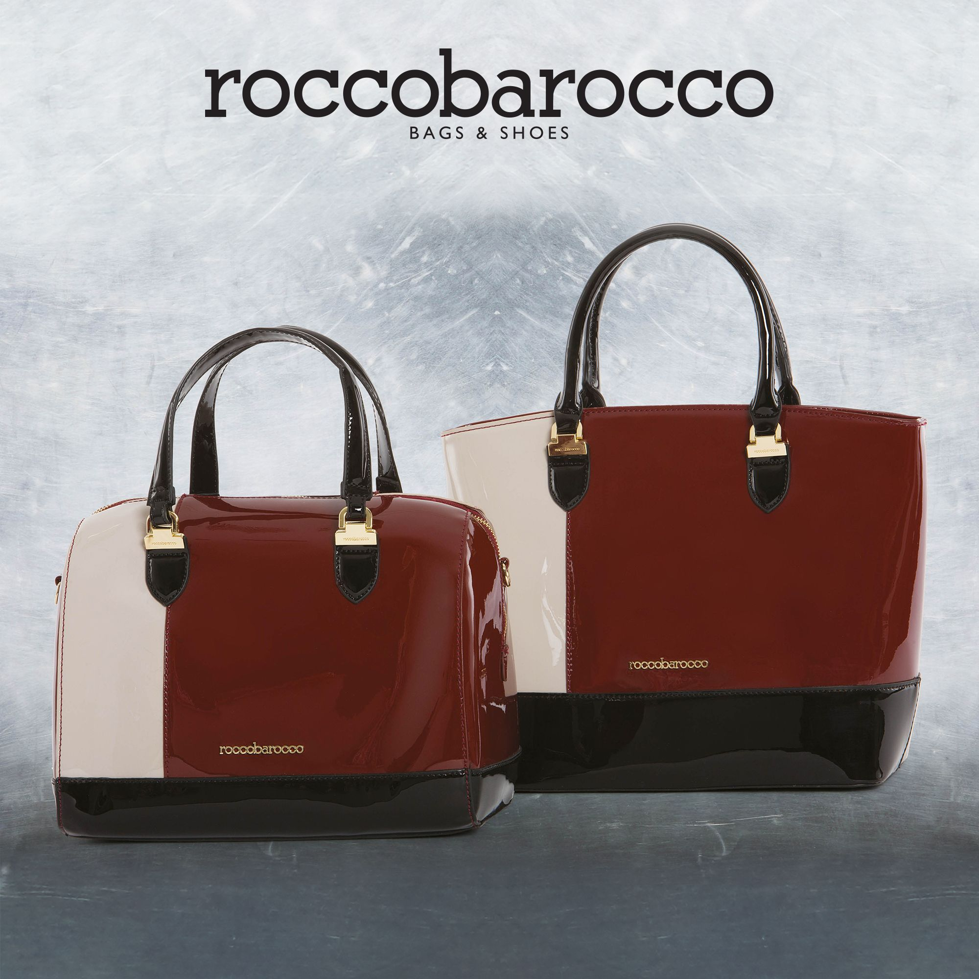 Eleanor di #roccobarocco la #borsa rigida in vernice dal sofisticato accostamento tricolor. La trovi da #Miriade cerca il negozio più vicino a te al http://www.miriadespa.it/stores.html #bags #bag #miriade #shopping #musthave #moda #accessori #modadonna #fashion #trendy #newcollection #fallwinter2016