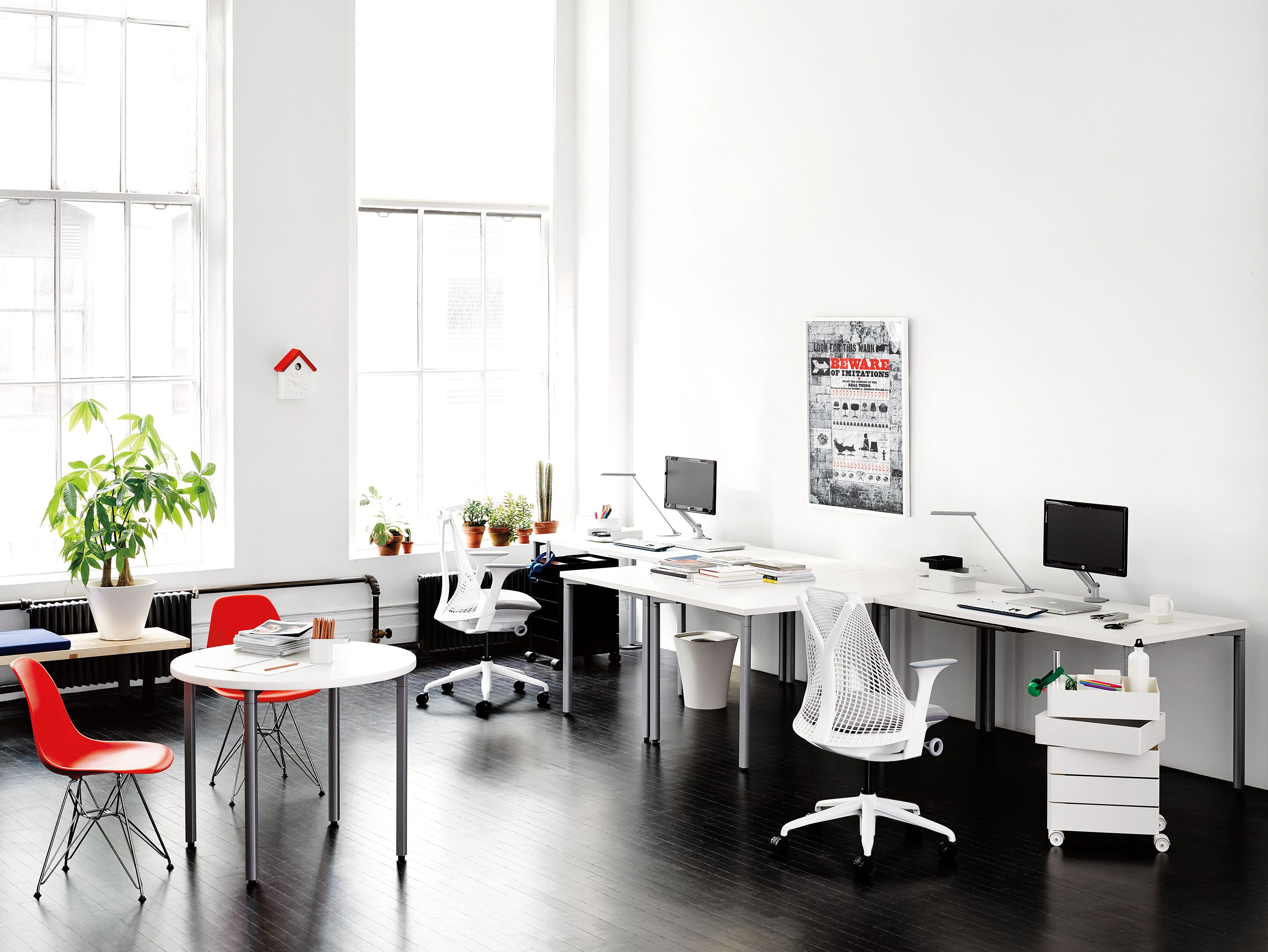 SAYL Chairs, Designed By Yves Behar.