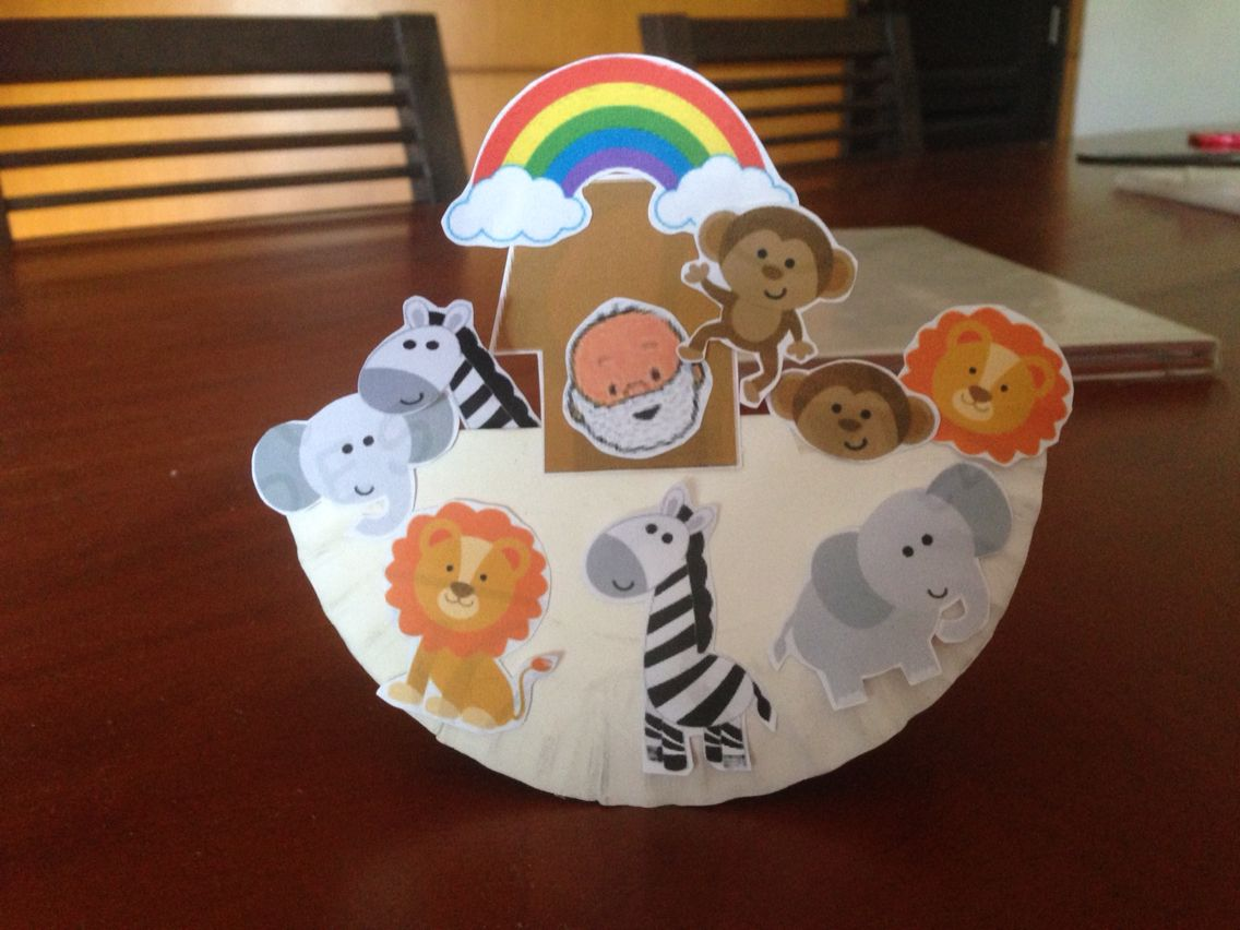 Noah's ark craft | sunday school clip art | Bible crafts ...