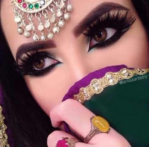 Pin By Zoya Khan On Beautiful Eyes Bride Eye Makeup Beautiful