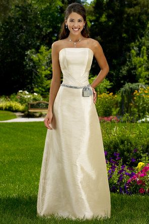 Ivory Bridesmaid Dresses For That Urban Gold And Black Wedding