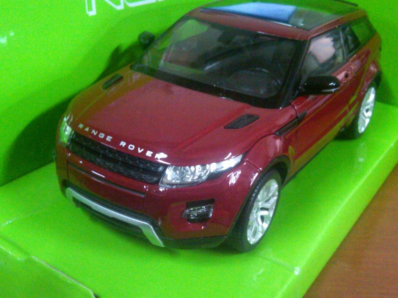 Jual Diecast Miniatur Mobil Land Rover Range Rover Evoque