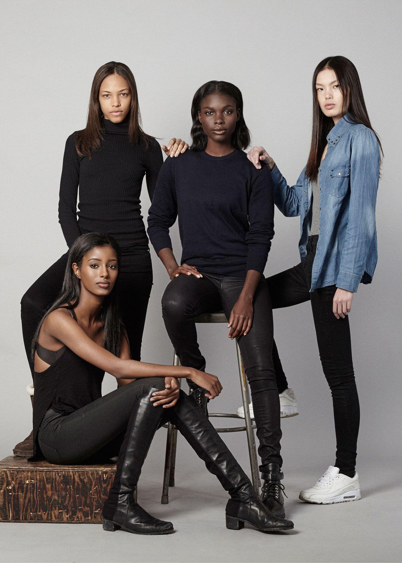 e9d008afc Diversity Rules! Part 3: IMG | models.com MDX | Makeup Inspiration ...