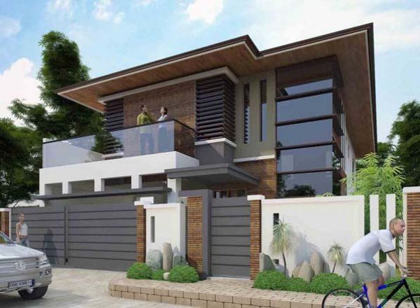 Simple Modern Minimalist House Philippines House Design House Exterior