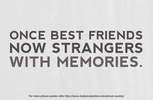 Good Sad Quotes About Lost Friendship. QuotesGram