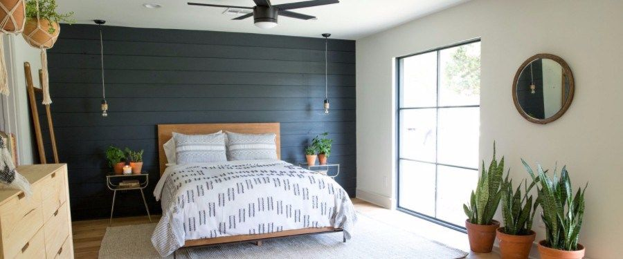 5 Colorful Shiplap Bedroom Ideas Shiplap Bedroom White Shiplap Wall Accent Wall Paint