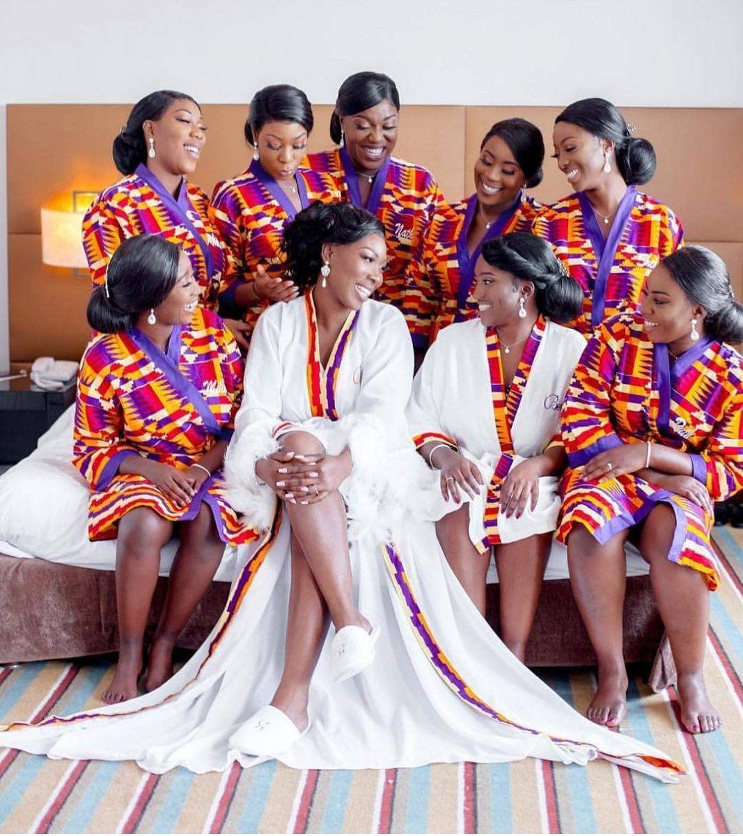 Beautiful Ankara Styles For Bridal Shower 2020 Isishweshwe In 2020 African Bridal Dress African Traditional Wedding Dress African Bridesmaid Dresses