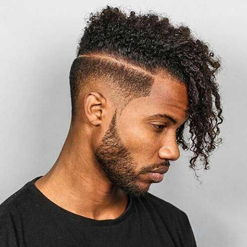 Stylish Black Guys with Unique Hairstyles | Mens Hairstyles 2017 ...