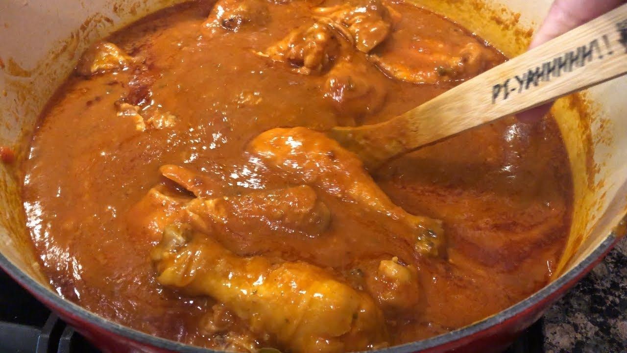 Chicken Sauce Piquant by The Cajun Ninja - YouTube #cajundishes