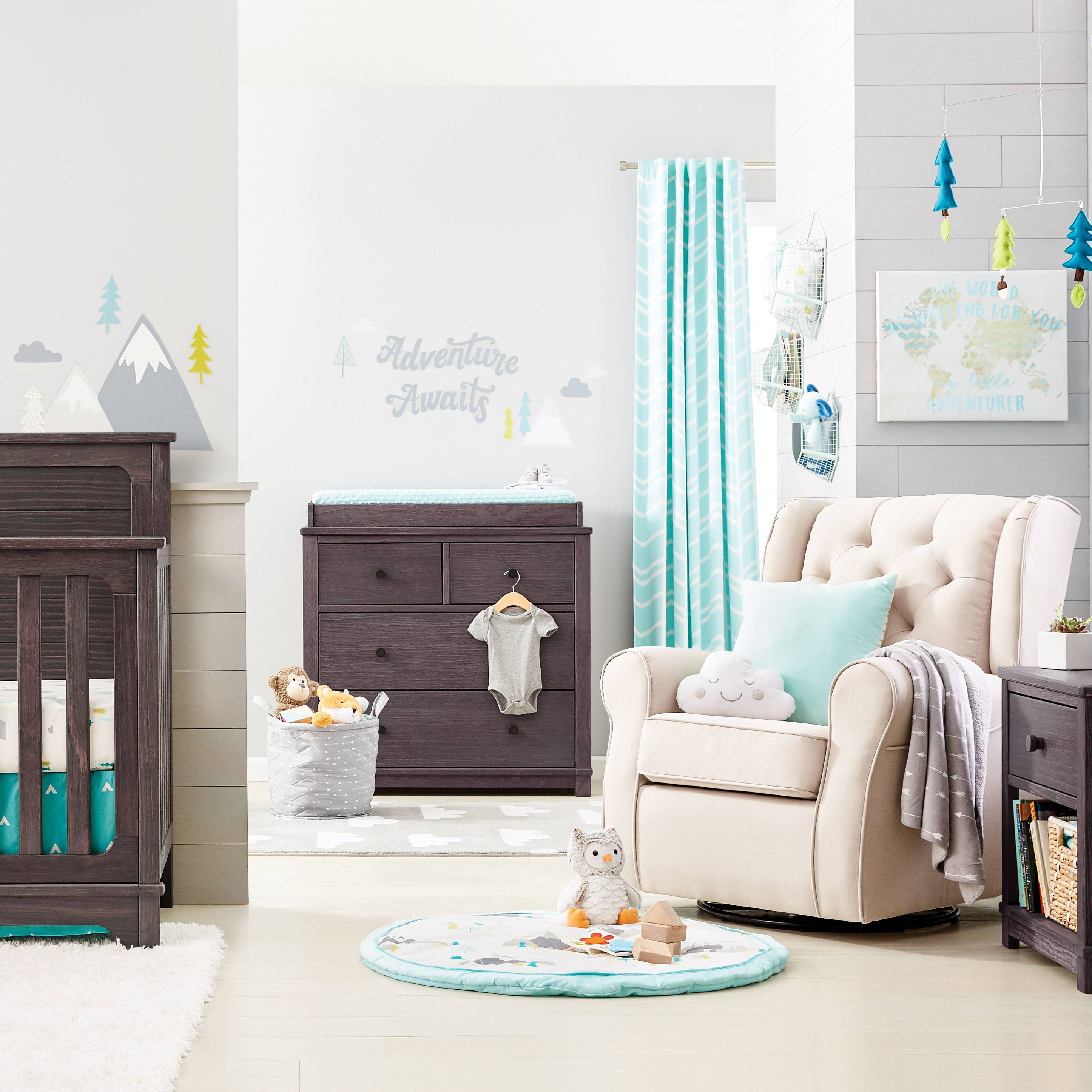 """Our Little Baby Boy S Neutral Room: Target's New Nursery Line Has Us On """"Cloud Island"""