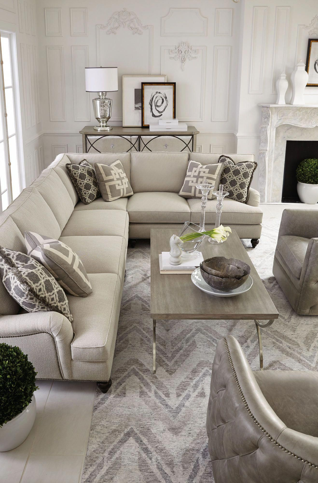 Marquesa palazzo signature seating living room bernhardt livingroomdecorations also cozy small decor ideas for your apartment in rh pinterest