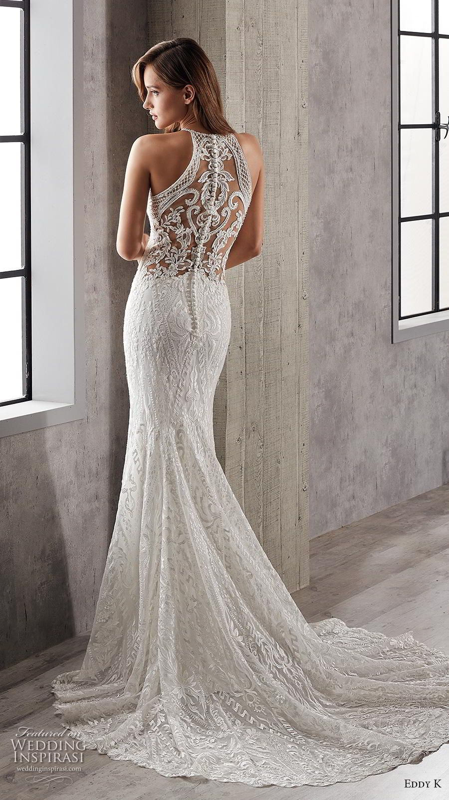 Elegant fitted wedding dresses  Eddy K Couture  Wedding Dresses  Wedding   Pinterest