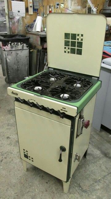 art deco magic chef compact stove
