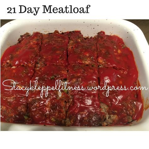 21 Day Fix Meatloaf Does it get any more comfort food than this? But how do keep it both moist and lean? How do you cut down on t...