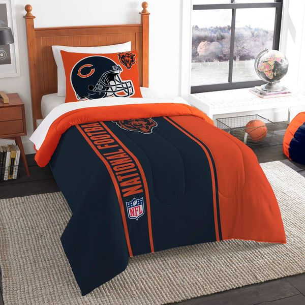 Chicago Bears The Northwest Company Soft Cozy 2 Piece Twin Bed Set
