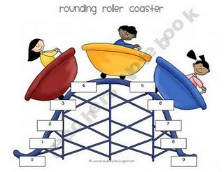 Rounding Roller Coaster - really helped my students understand rounding!