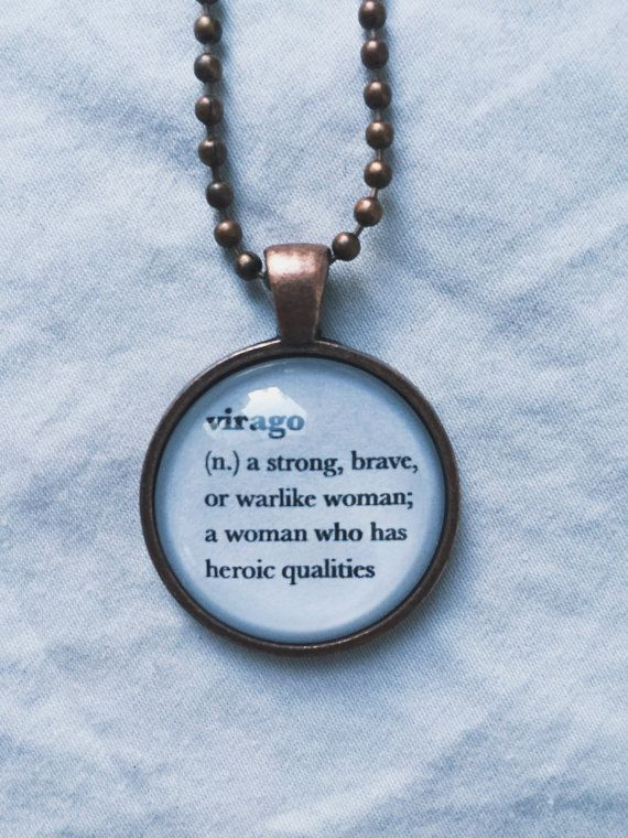 Feminist Jewelry Word Necklace Definition Necklace