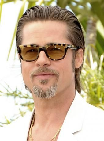 Brad Pitt S Slicked Back Hairstyle Mens Hairstyles Medium Mens Hairstyles Medium Hair Styles