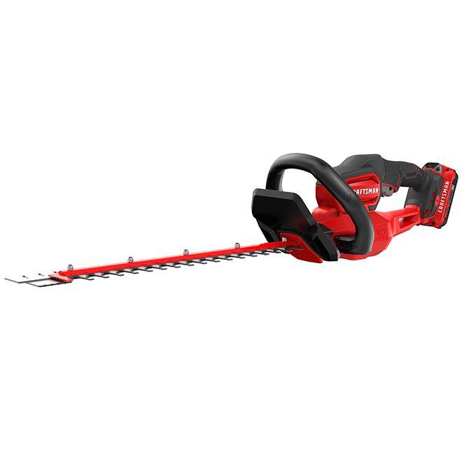 Craftsman Cordless Hedge Trimmer 22 20 V Rona Outdoor Power Equipment Craftsman