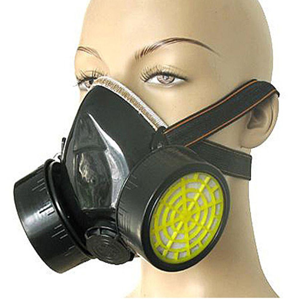 Haute Qualité respirateur Anti-Poussière de Peinture Respiratoire Masque Gas  Chemical protection Lunettes Masque la moitié du visage Masque FC 8cde5bdbc45c