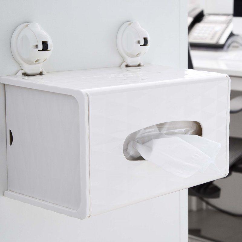 Wall Mounted Rectangular Tissue Box Holder Cover Tissue Box
