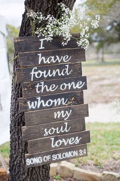 Rustic Wedding Sign Idea Wooden Wedding Sign I Have Found The