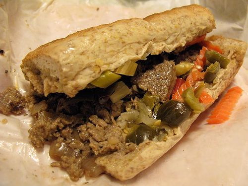Italian beef...my Chicago fave! :)