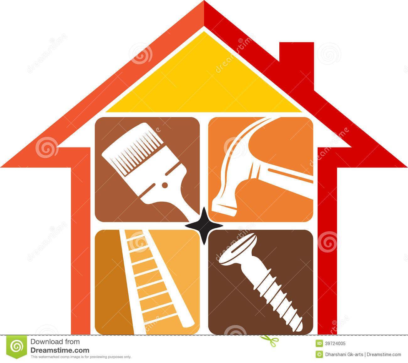 Home Repair Logo Handyman Logo Home Repair Construction Logo