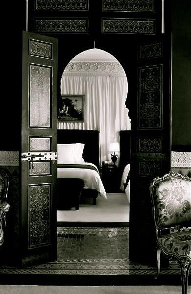 La Mamounia Hotel Marrakech by French designer, Jacques Garcia.