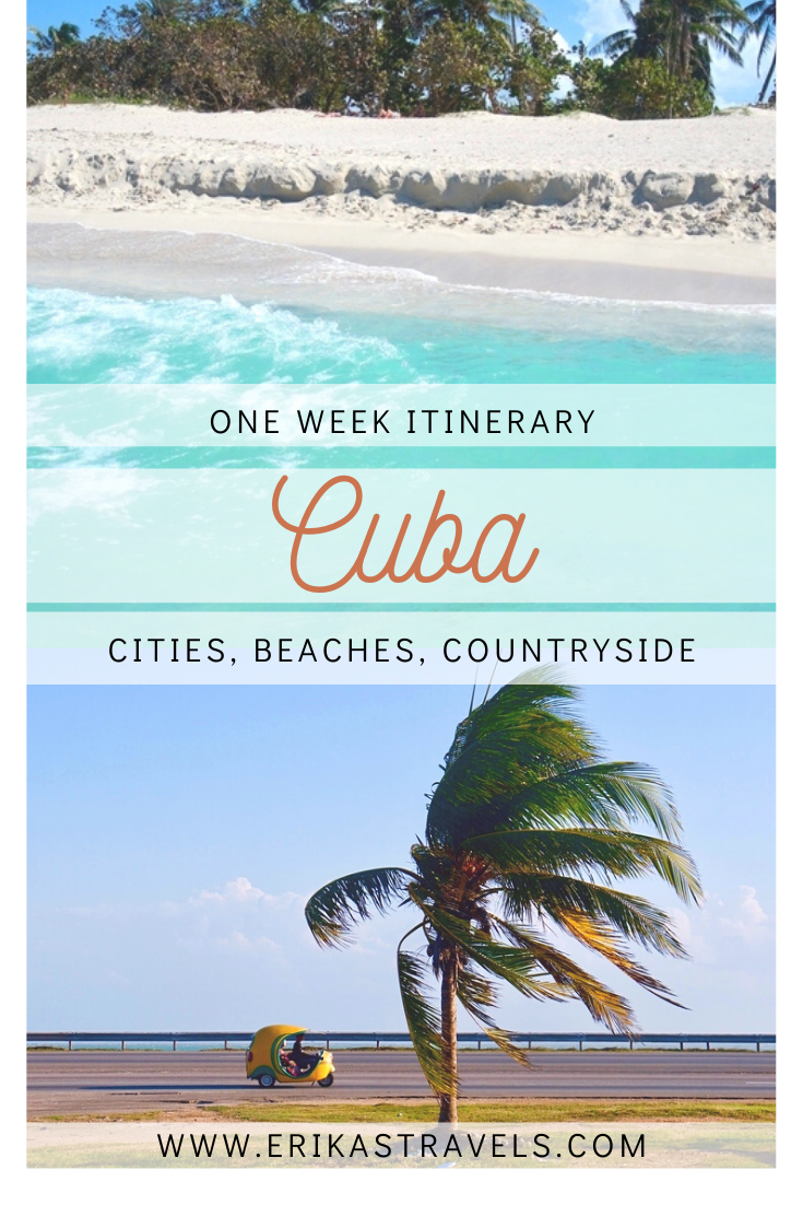 Traveling to Cuba but don't have time to see it all? Fear not! This one week itinerary to Cuba reveals the best things to see and do in Cuba if you only have 7 days.