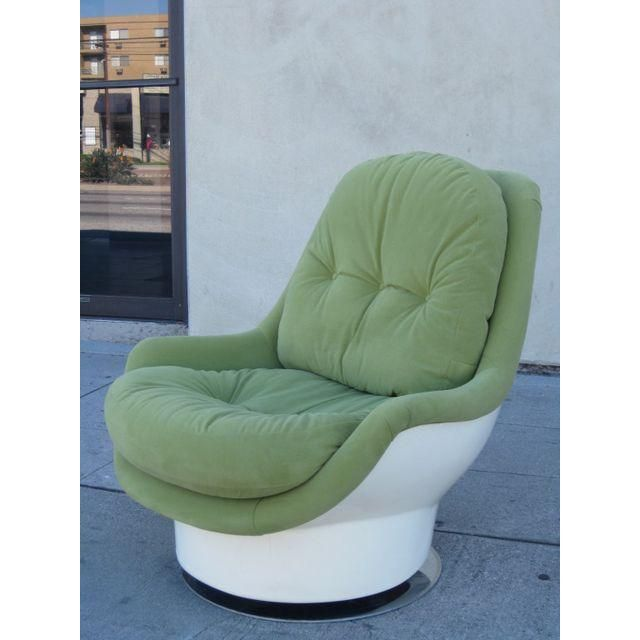 Swivel Chair Vr The Is Against Wall Italian Mid Century By Cesare Casati Pinterest Image Of