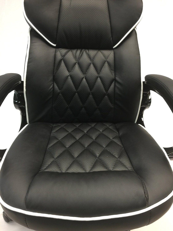 viscologic series yf2736 gaming racing style swivel office chair black amazon