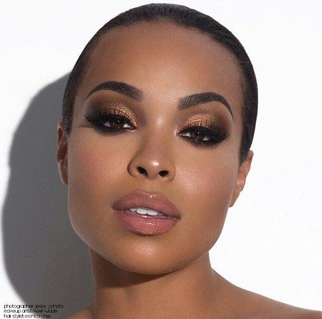 Pin by Nia Swindell on Makeup   Pinterest   Makeup, Wedding makeup ...