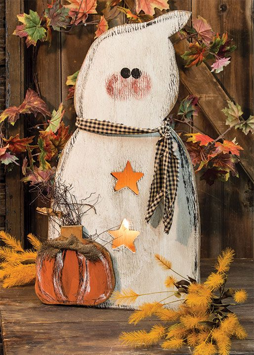 KP Creek Gifts - Lit Ghost  With Cord & Bulb, 24