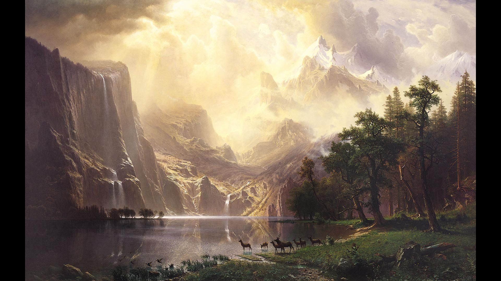 Wallpapers Famous Painting Artist Painter Brush Oil On Canvas Awesome 79