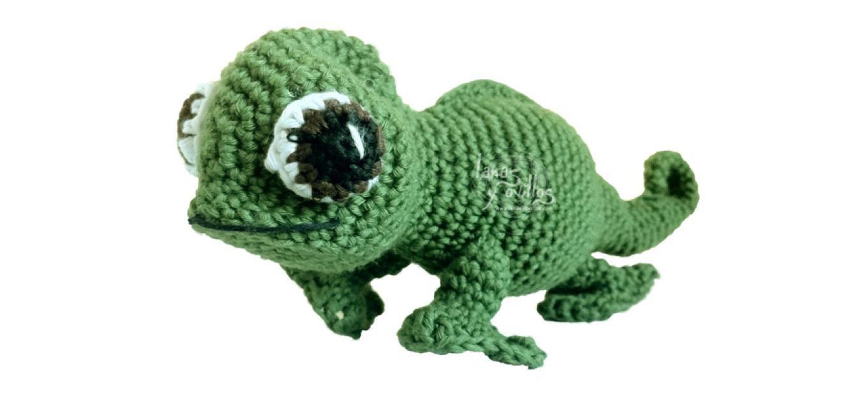 chameleon pascal amigurumi free pattern patrón gratis   proyectos ...