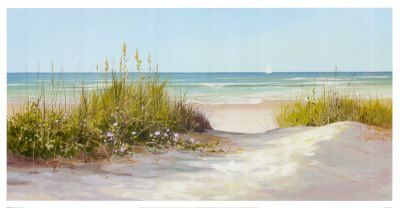 1000 Images About Jacqueline Penney On Pinterest Seaside In 2021 Beach Scene Painting Beach Art Prints Beach Watercolor