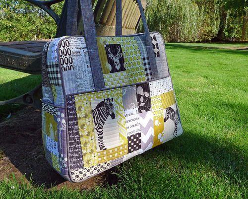 Quilt As You Go Bag Panels Weekender Bags Weekender And Bag