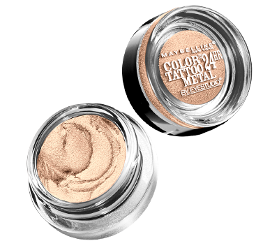 Maybelline Color Tattoo Barely Branded (Dupe for MAC Bare Study Paint Pot)
