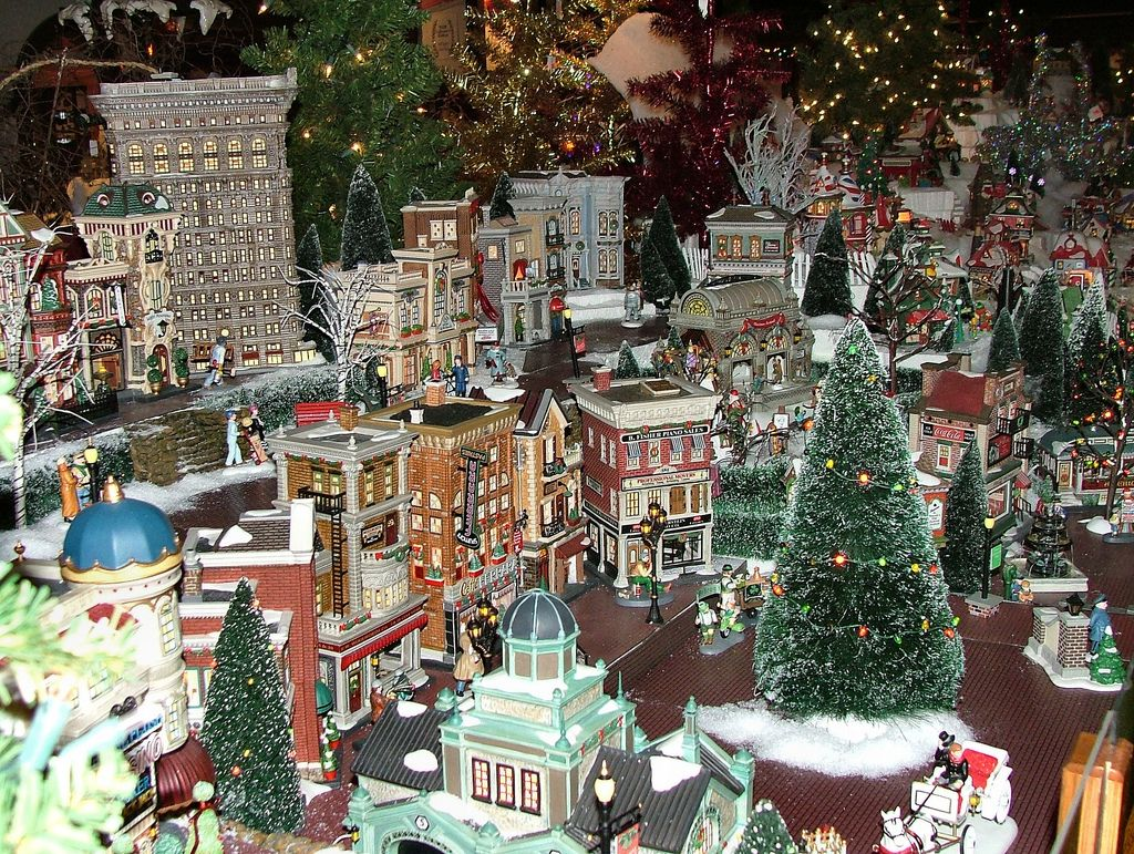 Department 56 Dickens Village Display Ideas - Olde world canterbury village s department 56 christmas in the city olde world canterbury village