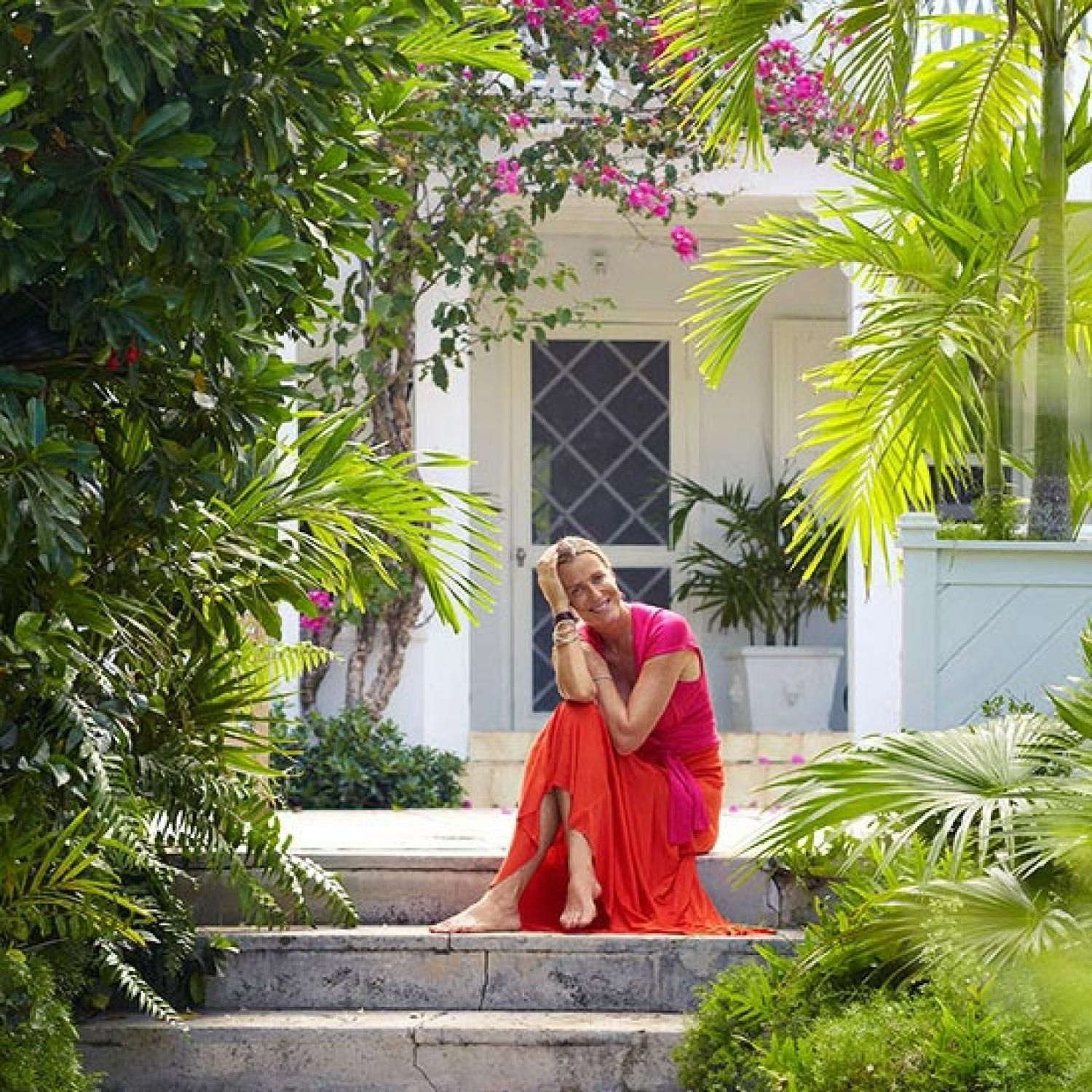 Model, Designer India Hicks' Home In The Bahamas In 2019