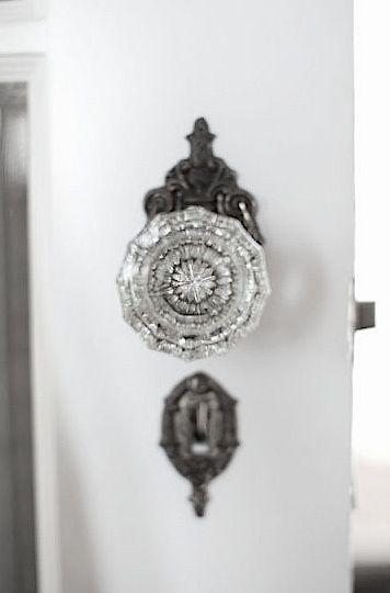 Beautiful Crystal Door Knob